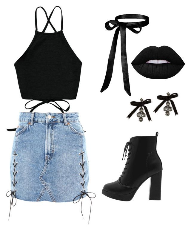 """""""Hey now"""" by gloritiger on Polyvore featuring Topshop and Dsquared2"""