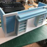 After a busy couple of work, I have finally manged to start turning my design into a 3 dimensional creation.  Come and check out my latest work in progress commission!  #richardscreativeworkshop; #diorama #gijoe #actionfigures