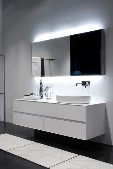 :: BATHROOMS :: lovely vanity detail, Panta Rei Collection | antoniolupi | #bathrooms