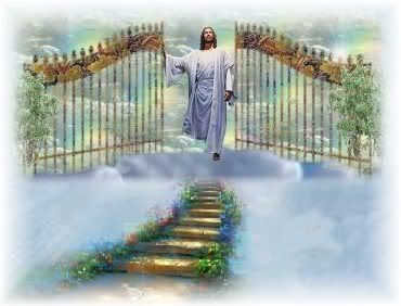 My daily reminder that God is waiting for me at the gate