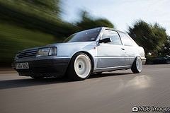 Lea's Peugeot 309 (MDB Images) Tags: classic french cool low retro special static limited rare peugeot comp 309 stance compomotive watercooled wcs stanced mdbimages