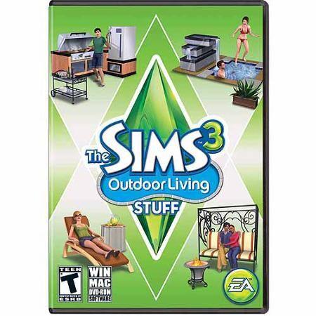 Sims 3 Outdoor Living Stuff Expansion Pack (PC/Mac) (Digital Code) - Walmart.com