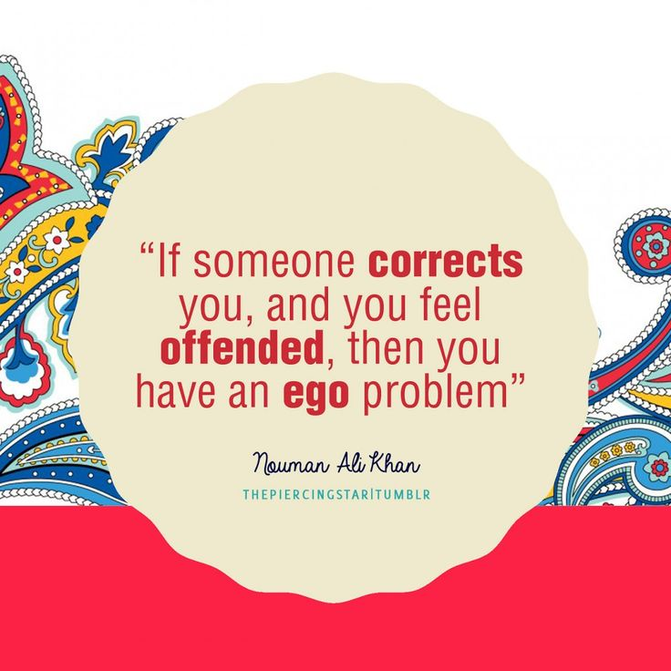 Nouman Ali Khan Quote: If someone corrects you …. - Islamic Quotes | IslamicArtDB.com