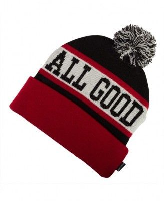 Undefeated - All Good Pom Pom Beanie - $26