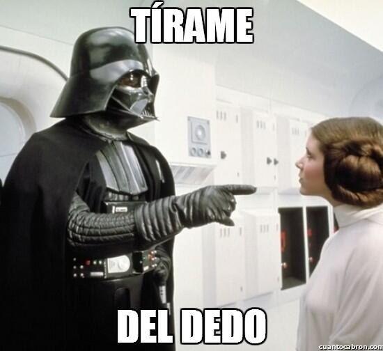 Una lección de modales. | 21 Memes que sólo le darán risa a los fans mexicanos de Star Wars
