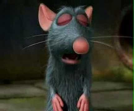 Ratatouille Trailer..rats!!  :)