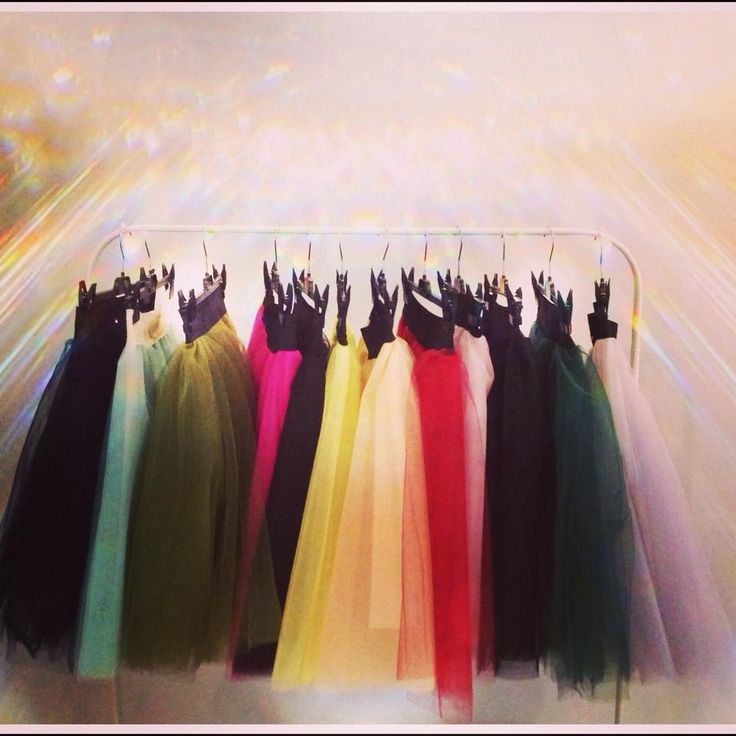 Συλλογή από tutu skirts!