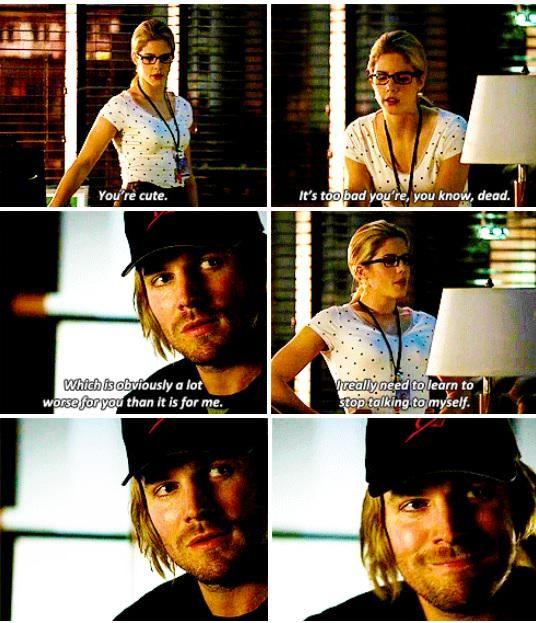 Arrow - Felicity & Oliver #3.14 #Season3 #Olicity <3