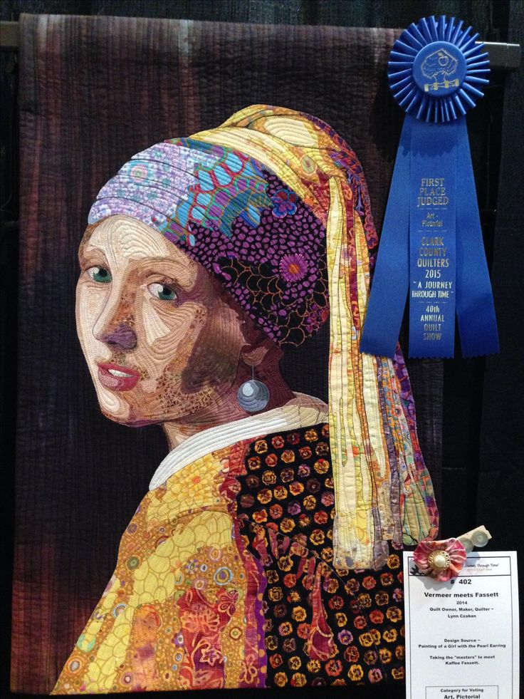 Girl With a Pearl Earring by Lynn Czaban