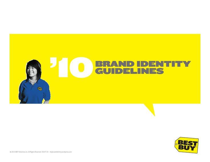 the brand guidlines v8.10 of Best Buy