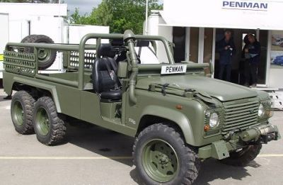 Landrover Penman military 6x6 Defender