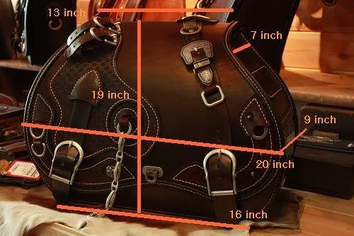 leather saddlebags - Google-søk