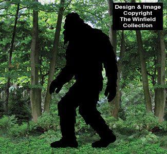 Bigfoot Woodcraft Pattern Animals Pinterest Wood Crafts