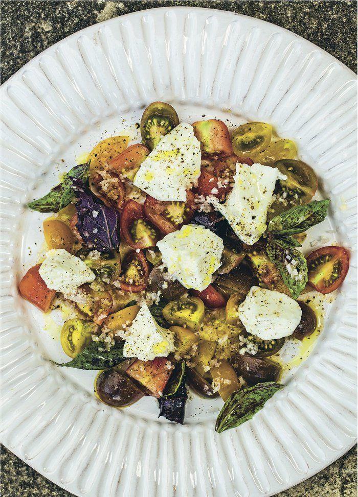 Tomat- og mozzarellasalat (Hellstrøm)