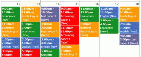 Revision World | Create your own revision timetable and use the Free GCSE and A Level revision resources