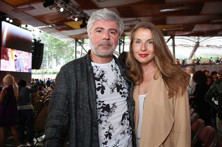 Сосо Павлиашвили с женой.
