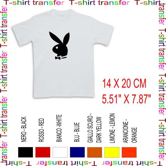 iron on transfer playboy bunny by Tmaniashop on Etsy, €3.00