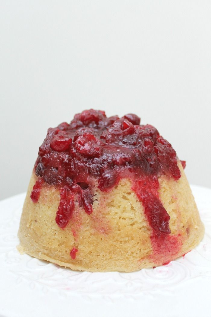 Slow Cooker Cranberry And Vanilla Steamed Pudding Recipe