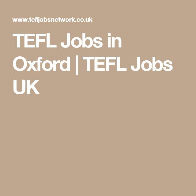 TEFL Jobs in Oxford   TEFL Jobs UK