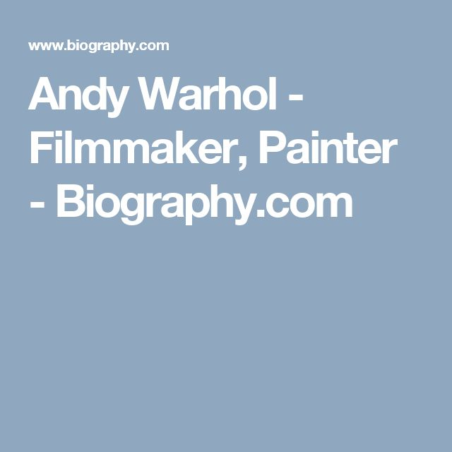 the life and accomplishments of andy warhol High-art demigod, consummate businessman or a blurring of the two it's a  continual debate when it comes to the life of artist andy warhol.