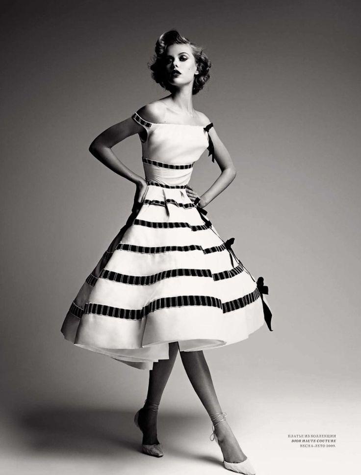 Dior Haute Couture bw