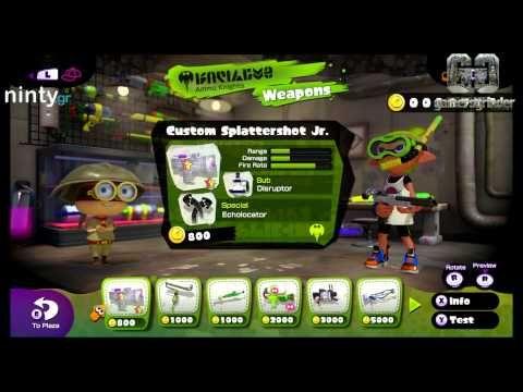 Splatoon (Wii U Exclusive) Video Greek Review