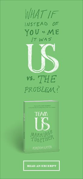 """Read the intro and chapter 1 from """"Team Us: Marriage Together"""" here: http://marriagetogether.com/"""