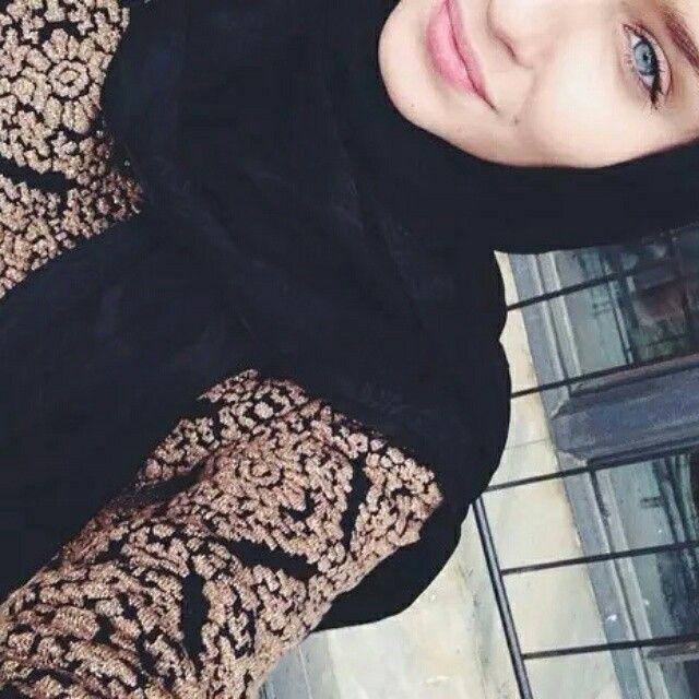 Gold abaya