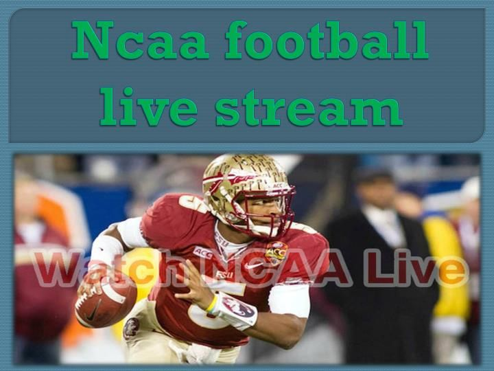 #Ncaa_football_live_stream Stream your favorite nfl games online for free and in hd.We offer streaming of all american football and ncaa football live http://www.slideshare.net/ariaemily/ncaa-football-live-stream-70107191