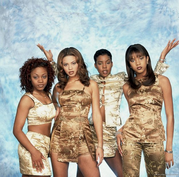 The three times they dress liked this... | The 25 Most Embarrassing Destiny's Child Coordinated Looks