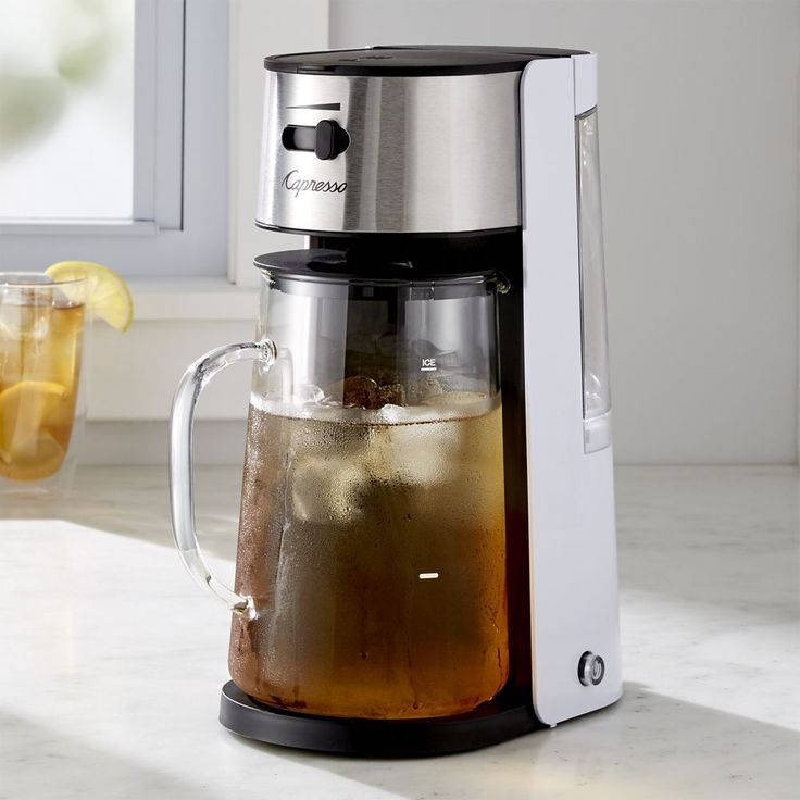 Automatic Iced Coffee Maker : The 25+ best Iced tea maker ideas on Pinterest Traditional ice cream scoops, Iced tea glasses ...
