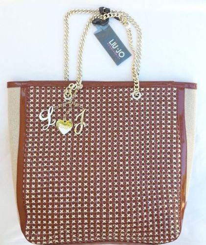 Handbags-borsa-maxi-shopping-vertical-LIU-JO-colore-mattone #handbags #bestprice #borse #donna #superprezzi #saldi #sale #borsescontate #liujo