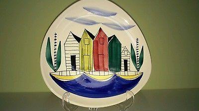 Vintage-stavangerflint-wall-plate-hand-painted-by-inger-waage