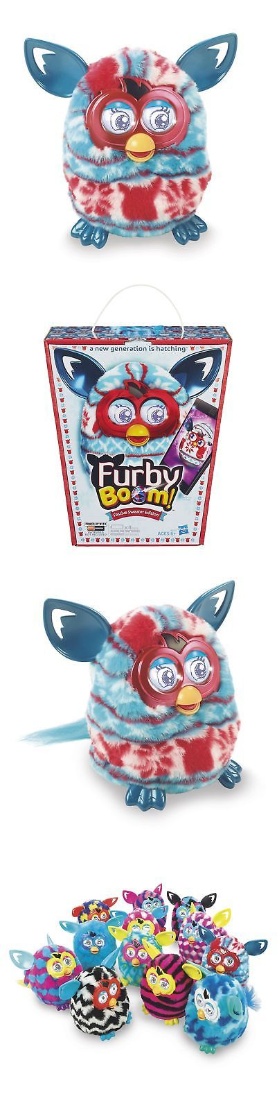 Furby 1083: Furby Boom Plush Toy (Holiday Sweater Edition) New -> BUY IT NOW ONLY: $92.03 on eBay!