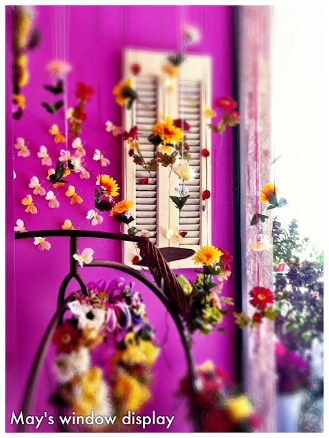 Spring ShopWindow Decoration!!