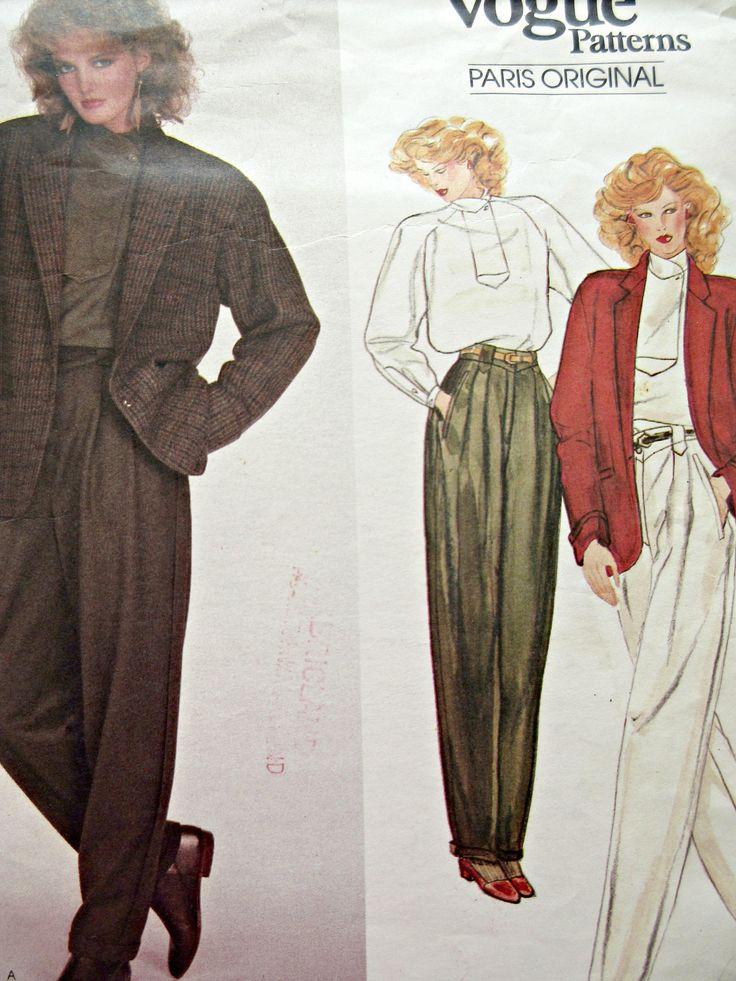 87 best Vintage Designer Patterns images on Pinterest ...