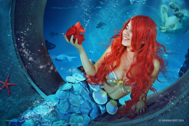 Ariel Cosplay Model and Costume: Ginevra Mari, Romics 2014  Photo / Editing: © Arianna Berti 2014