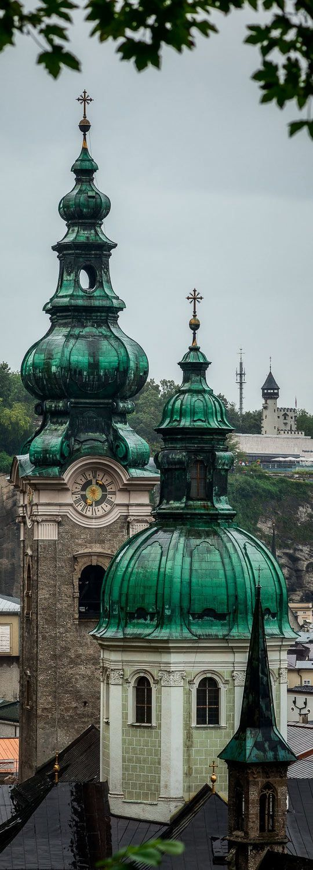 Church Towers of Saltzburg, Austria