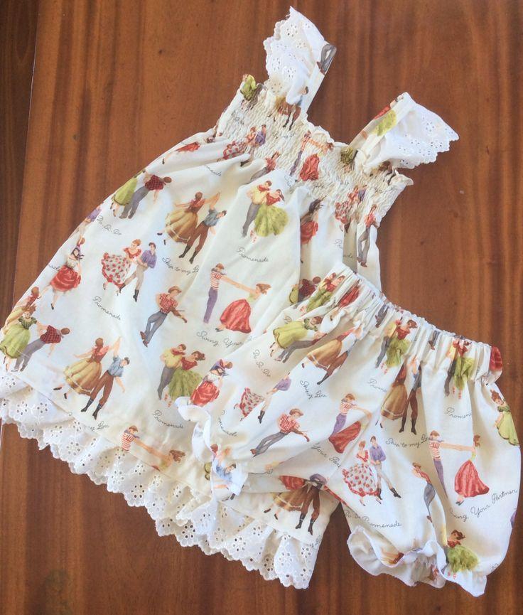 Shirting dress by boo design & Martha Stewart free pattern bloomers