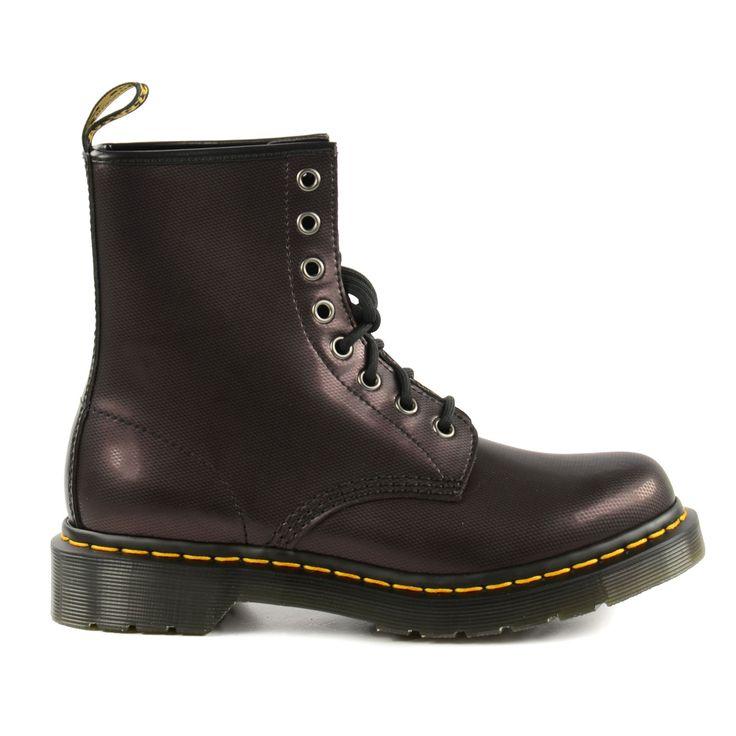 Burgundy Dr. Martens boots - Bordeaux rode Dr. Martens laarzen