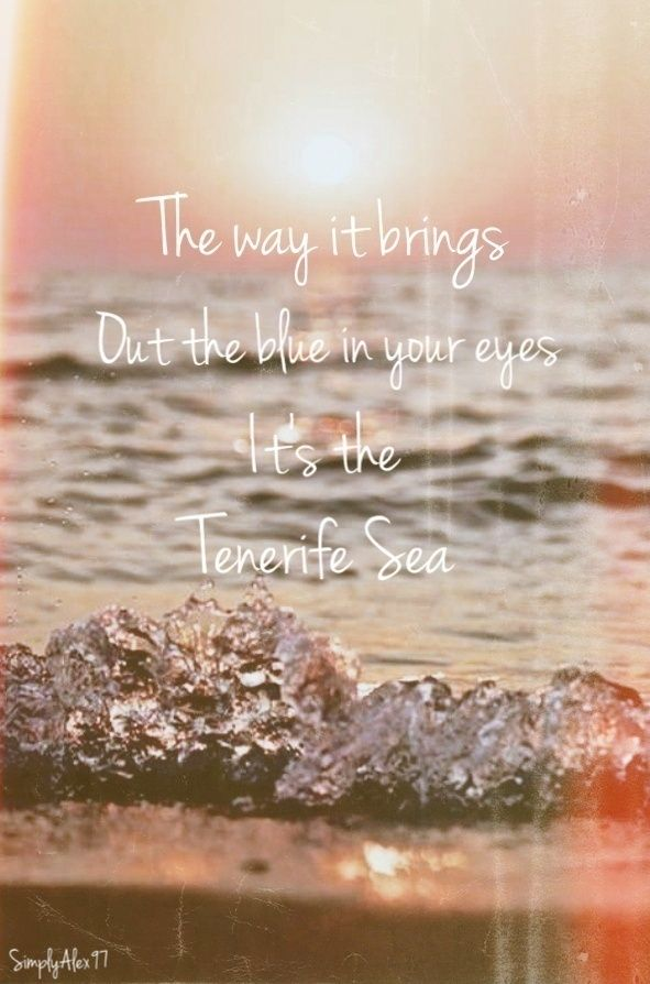"""""""Tenerife Sea"""" by Ed Sheeran 