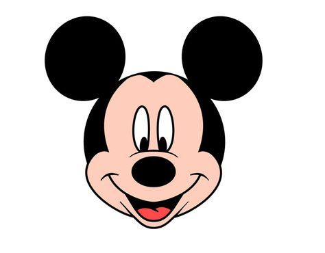 mickey mouse head - Bing Images Step by step how to draw mickey's head.