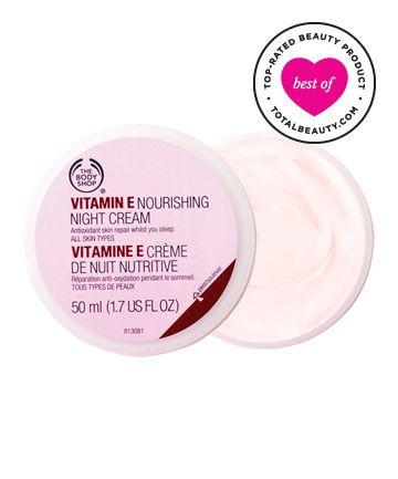 Best Night Cream No. 16: The Body Shop Vitamin E Nourishing Night Cream, $21