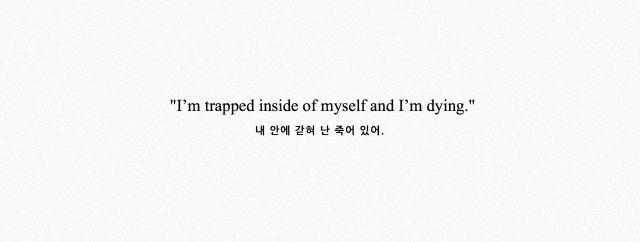BTS LIE - Save Me lyrics. Estoy atrapado dentro de mi y estoy muriendo*