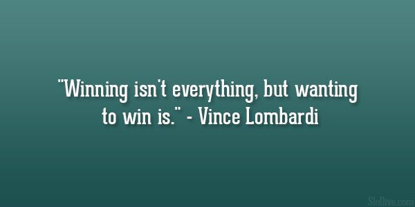 vince lombardi quote 26 Great Sports Quotes You Cant Afford To Miss