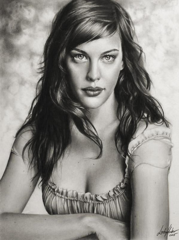 Amazing Drawings In Pencil | ... 2389 post subject amazing pencil drawings amazing pencil drawings Liv Tyler, I really like this.