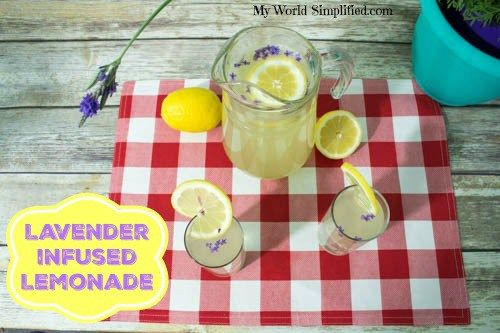 Lavender Infused Lemonade Recipe