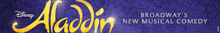 Aladdin on Broadway....