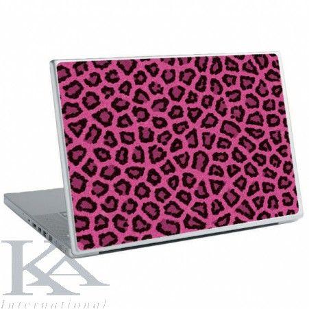 Sticker laptop Pink Fur.