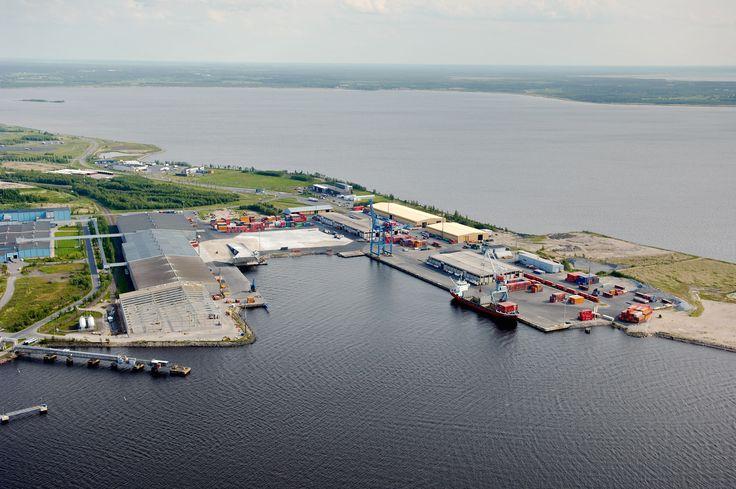 Gulf of Bothnia, Oulu harbour.